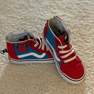 Spider Man Marvel Vans